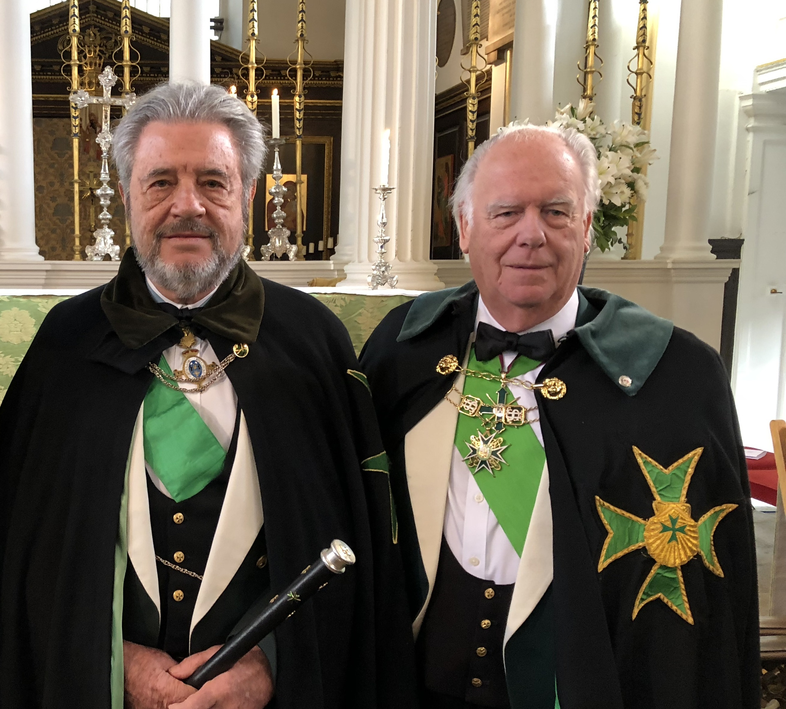 Grand Master Emeritus and Bailiff