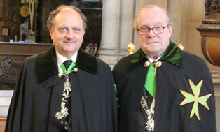 The Grand Prior and the Grand Master at Investiture