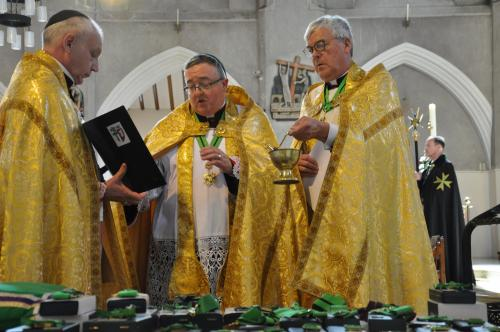 Blessing of insignia