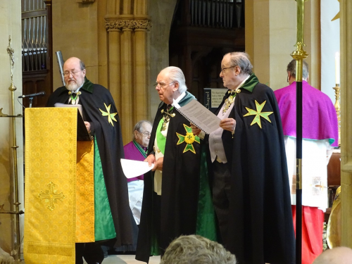 Belmont investiture