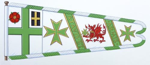 Wales heraldic standard