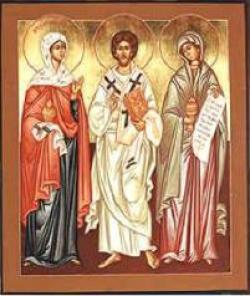 Lazarus and sisters