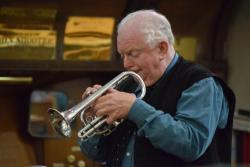 Oak Apple day trumpeter